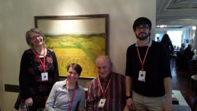 Die Jury (v.l.n.r.): Luzia Sutter Rehmann, Stefanie Arnold, Manfred Koch, Maxime Pouyanne